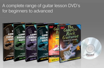learn to play guitar dvds by wansbeck the complete rock guitarist series 1 to 2 the complete. Black Bedroom Furniture Sets. Home Design Ideas
